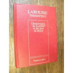 Dictionnaire du Scrabble et...