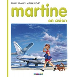 Martine en avion Par Jenny...