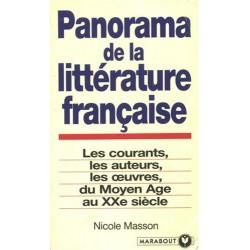 Panorama de la littérature...