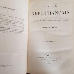 lexique Grec-Français a...